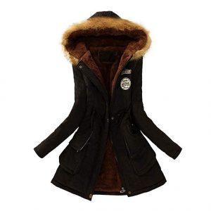 abrigo casual capucha