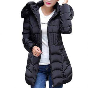abrigo mujer acolchado