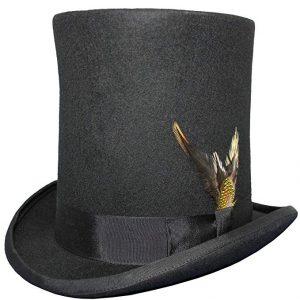 sombrero de copa alta